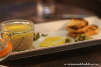 Potted Crab with Capers and Toasts