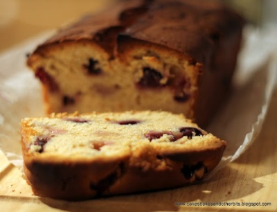 blueberry yogurt loaf