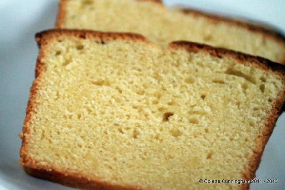 Lemon & Lime loaf cut-through