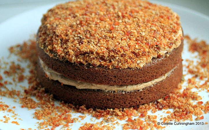 Coffee Cake with Pecan Brittle