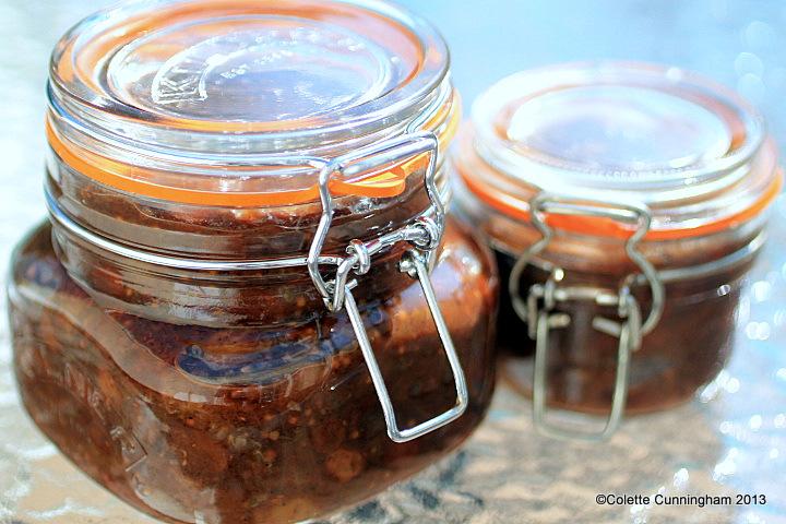Gooseberry Chutney in Kilner Jars