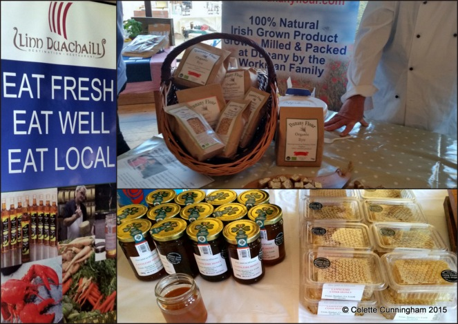 Hosts, Linn Duachaill Restaurant, Dunany Flour Products, Lannlaire Honey and honeycomb