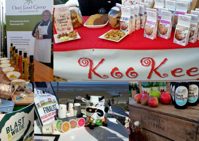 Derrycamma Rapeseed Oils, Koo Kee Cookie Mixes, Blast & Wilde Flavoured Butters, Burkes Farm Ice Cream, Dan Kelly's Cider and Cider Vinegar