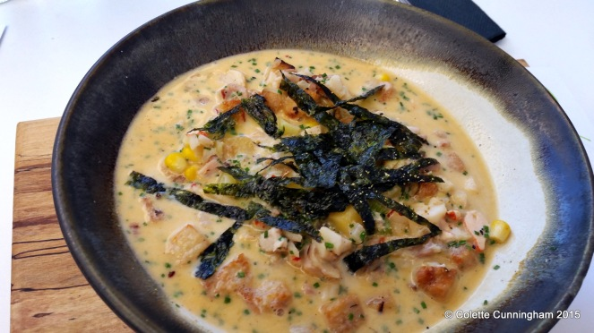 Eastern Seaboard Bar & Grill, Drogheda, Chowder Entry