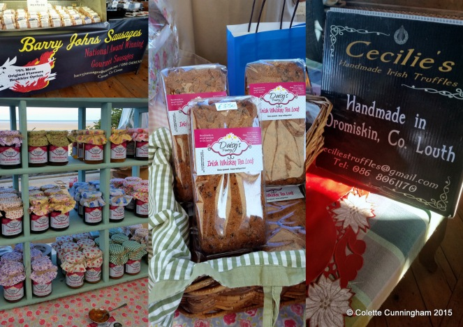 Barry Johns Sausages, Daisy's Pantry Jams, Chutneys and Irish Whiskey Tea Loaves, Cecilie's Handmade Irish Truffles, Daisy's Pantry Jams and Chutneys